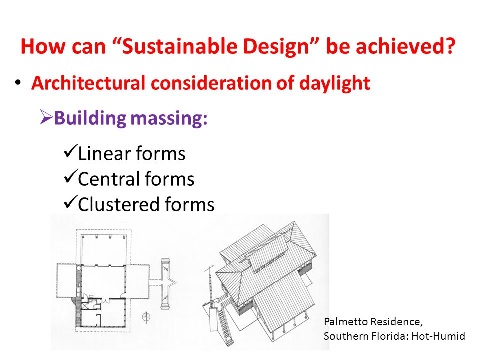 How can Sustainable Design be achieved.