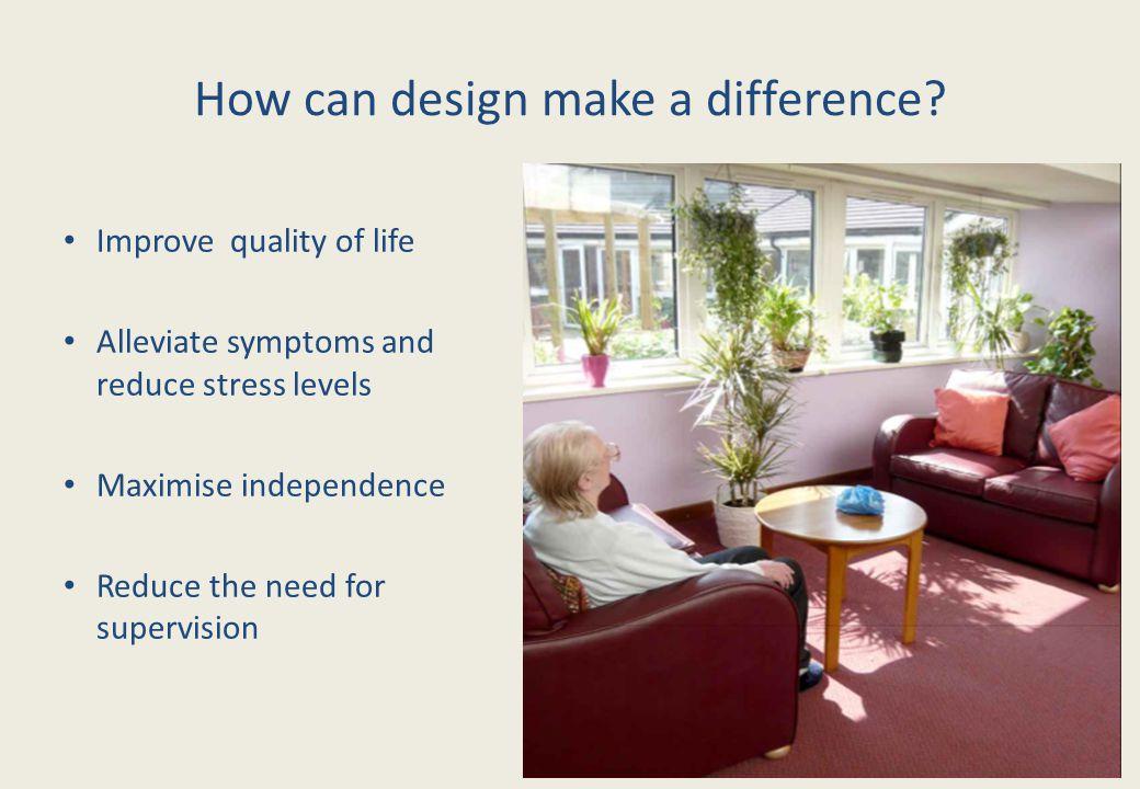 Access to outdoors Garden design blueprint :Design Research Centre Richmond University