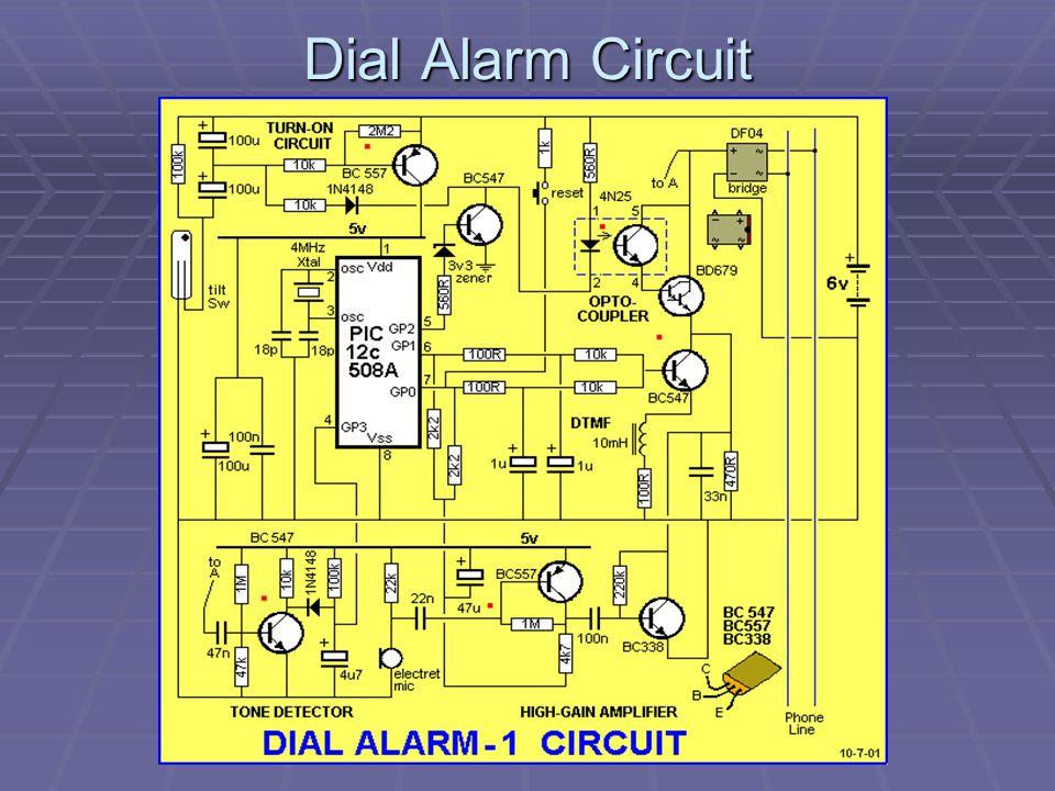 Dial Alarm Circuit