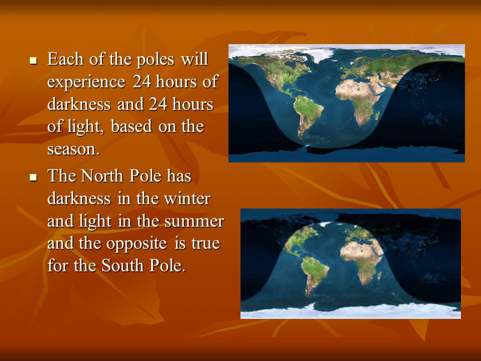 Our seasons are reversed with the southern hemisphere because of our tilt and position.