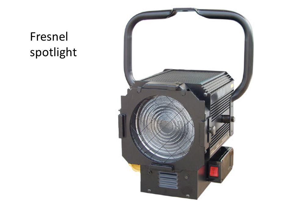 Fresnel spotlight