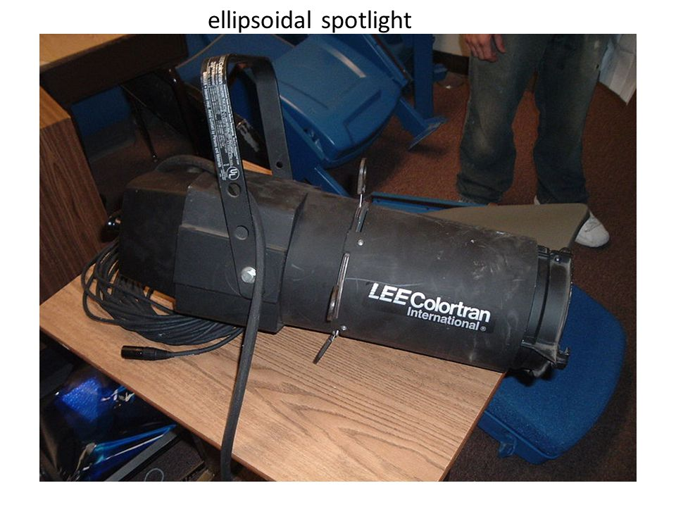 ellipsoidal spotlight
