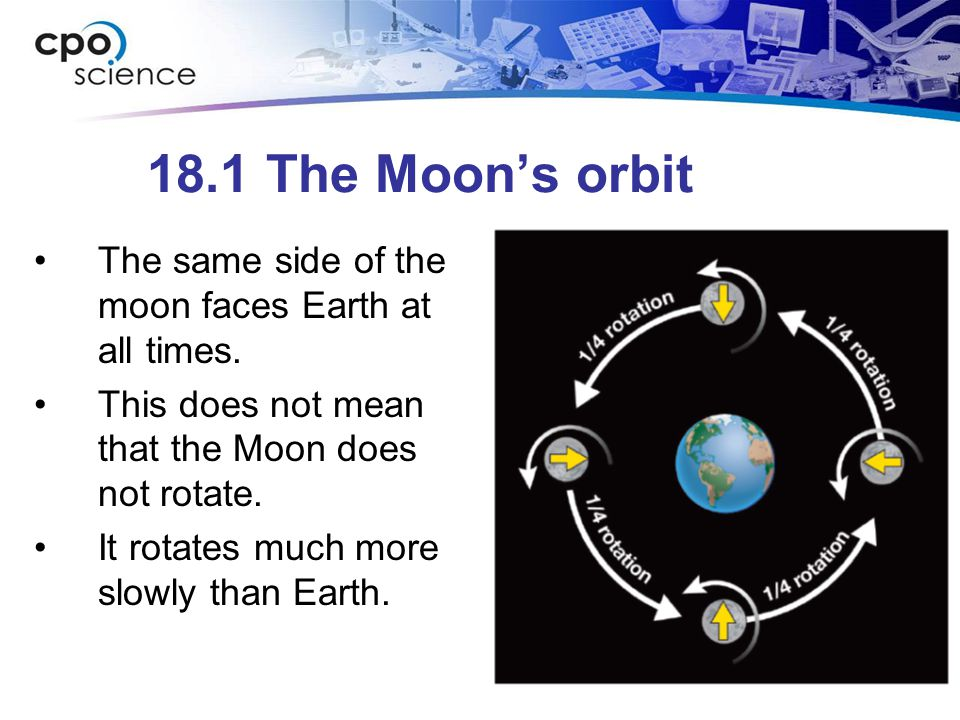 18.1 Where did the moon come from.
