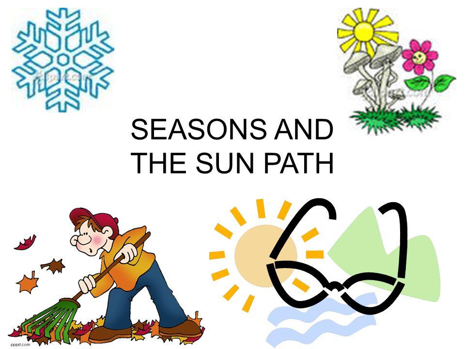 SEASONS AND THE SUN PATH