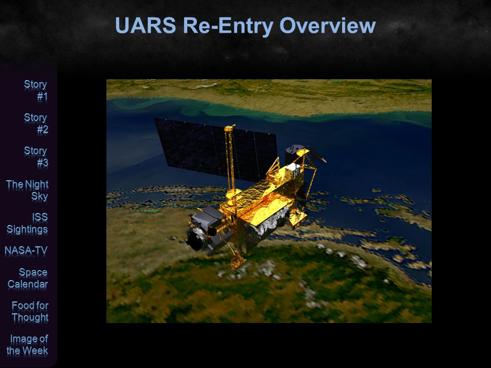 UARS Re-Entry Overview