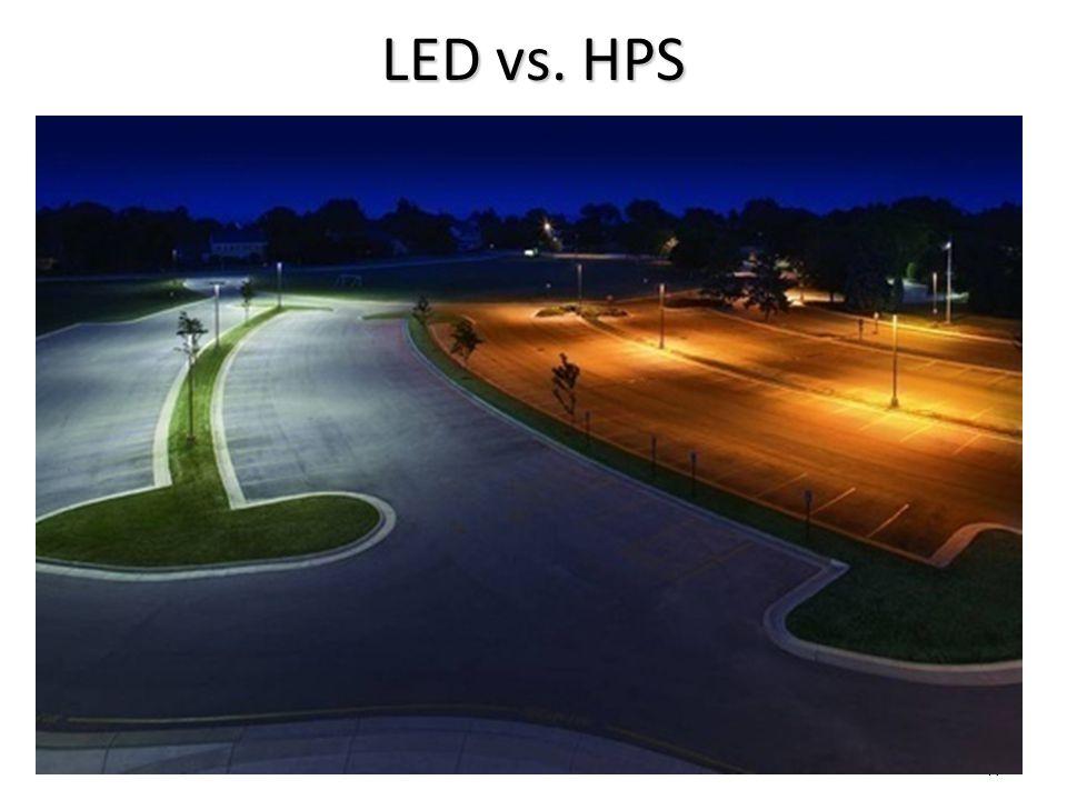 47 LED vs. HPS