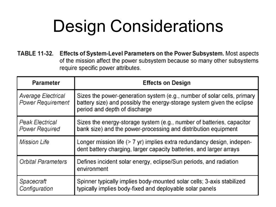 Quantifying Solar Array Degradation: Process Break up total particle environment into energy bins Equivalent # 1 MeV electrons/cm 2  sec Equivalent # 10 MeV protons/cm 2  sec Damage equivalency