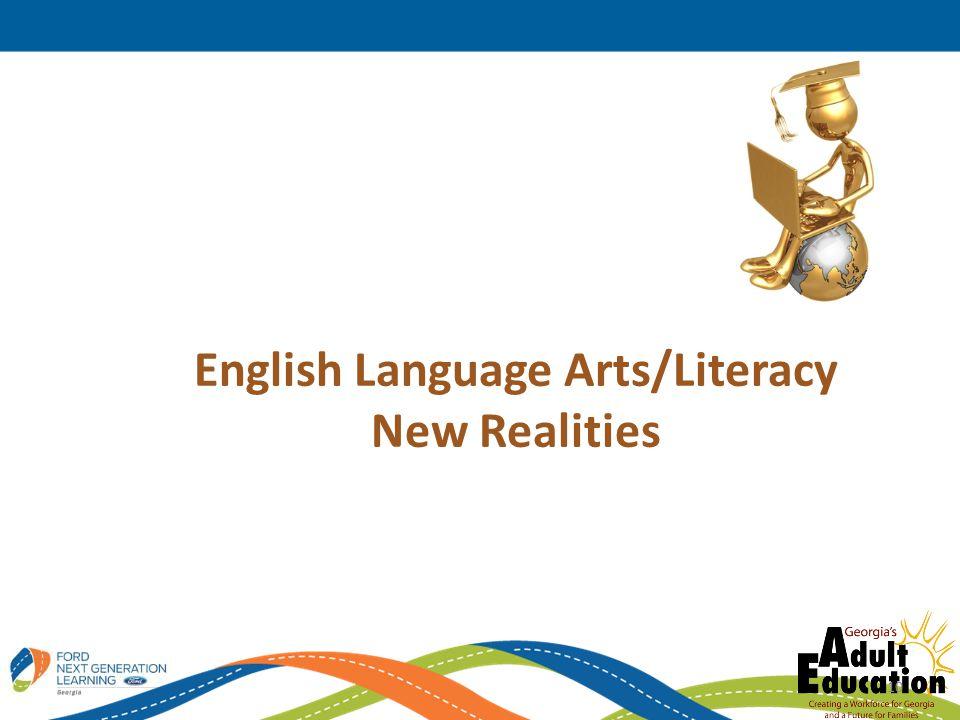 English Language Arts/Literacy New Realities 10