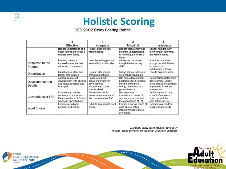 Holistic Scoring 17