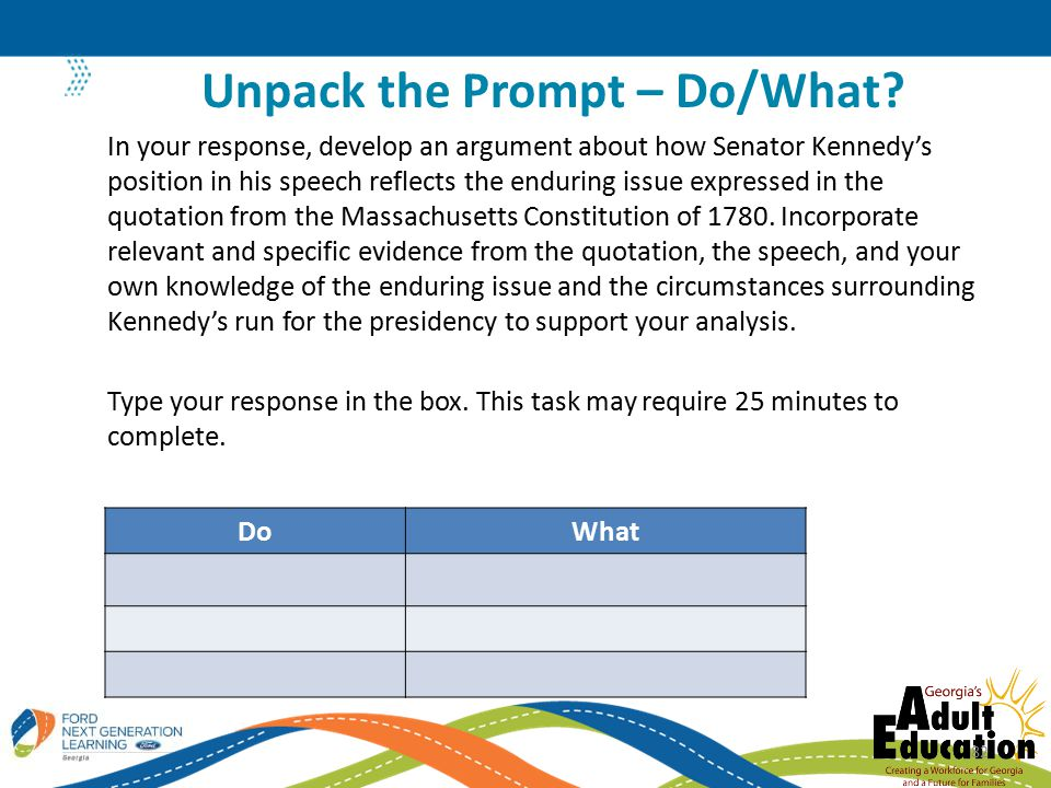 DoWhat In your response, develop an argument about how Senator Kennedy's position in his speech reflects the enduring issue expressed in the quotation from the Massachusetts Constitution of 1780.