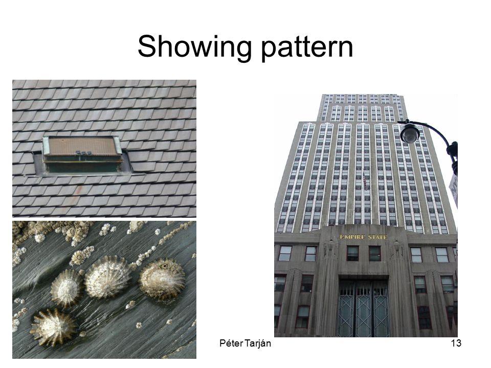 Péter Tarján13 Showing pattern