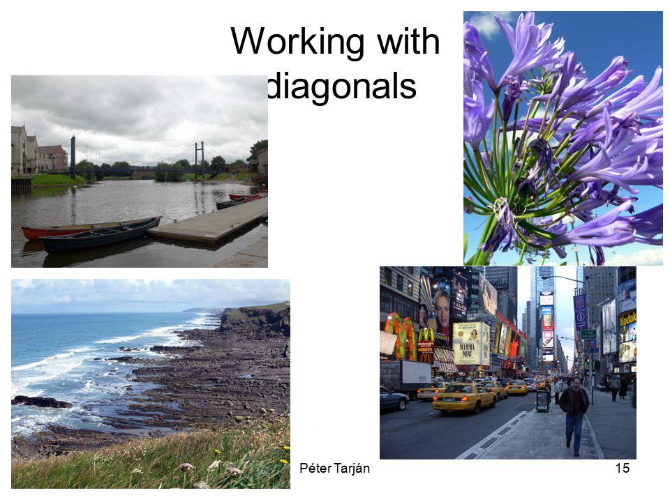 Péter Tarján15 Working with diagonals