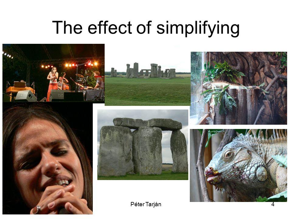 Péter Tarján4 The effect of simplifying