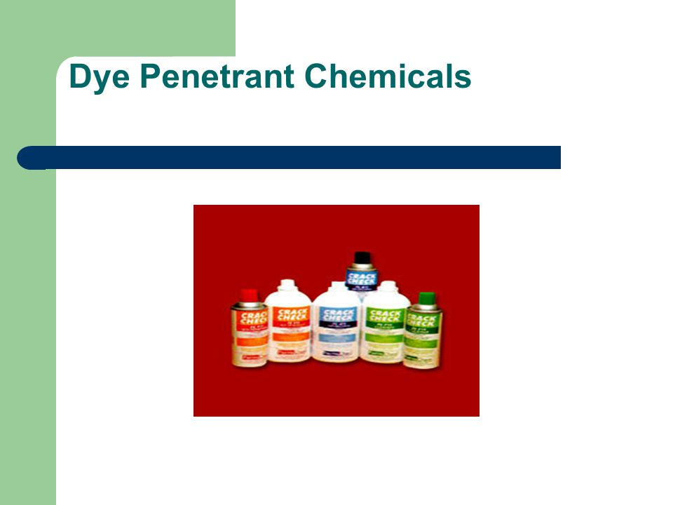 Dye Penetrant Chemicals