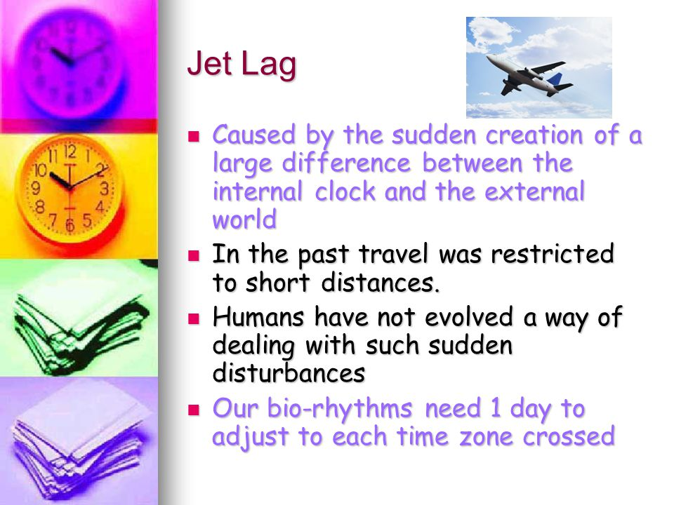 Does the direction of travel make a difference to jet lag.