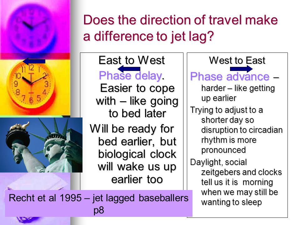 Commentary on Jet Lag Commentary on Jet Lag Sleep can be disrupted in other ways when travelling.