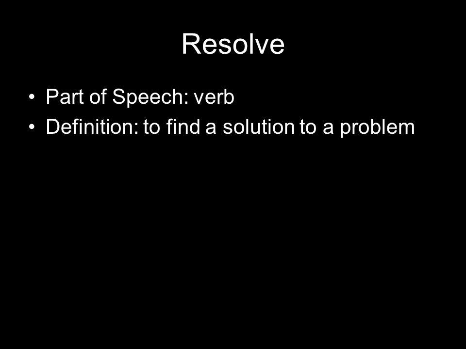 Dissertation Part of Speech: noun Definition: very long research paper