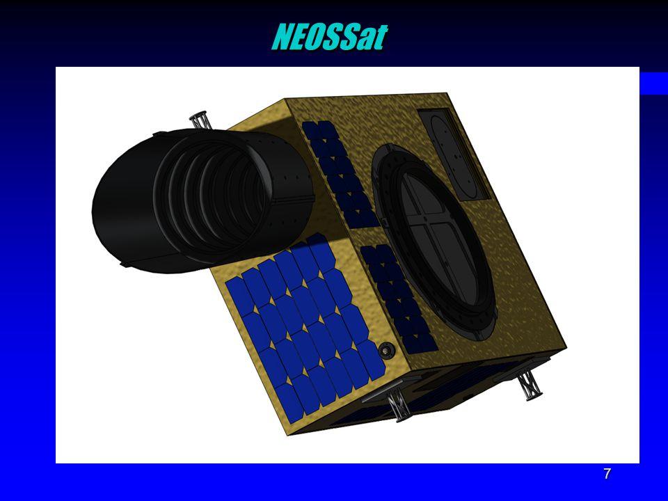 7 NEOSSatNEOSSat