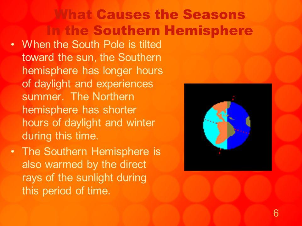 7 The Earth's Orbit, Tilt and Seasons As the Earth moves around the sun, it follows an elliptical orbit.