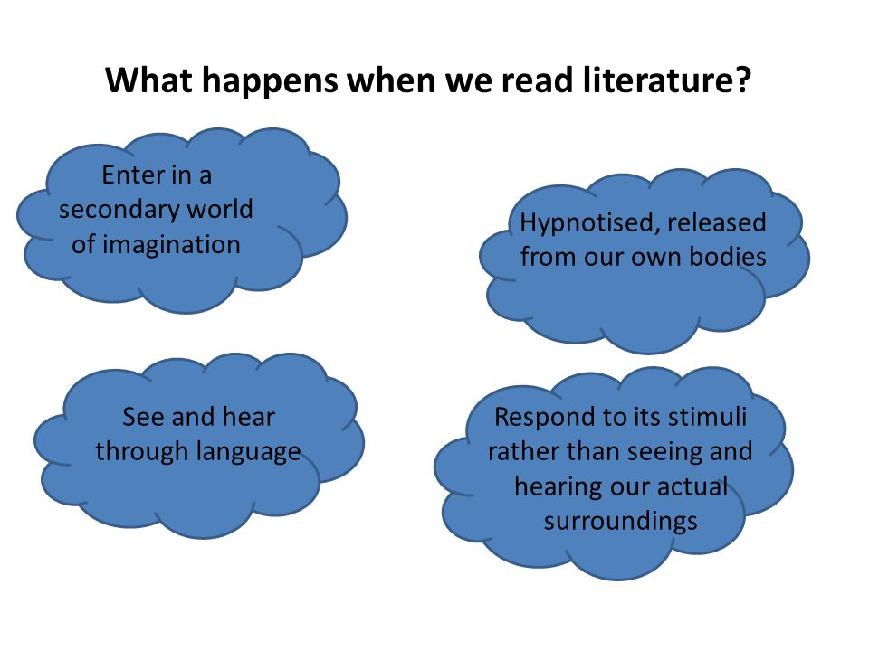 How is everyday language different from language in literature?