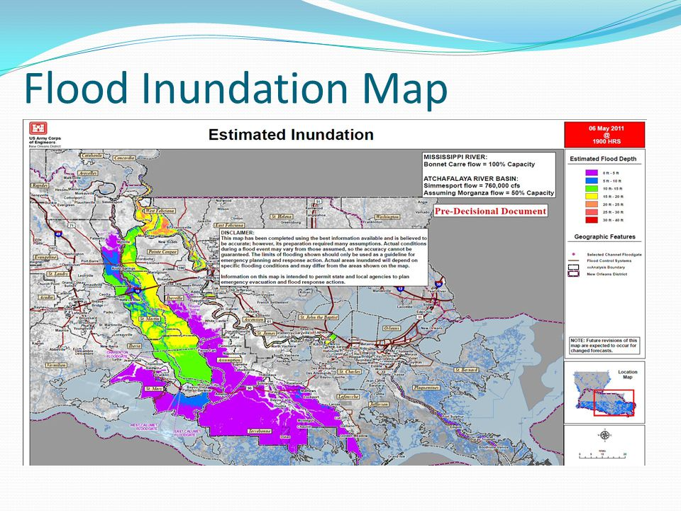 Flood Inundation Map