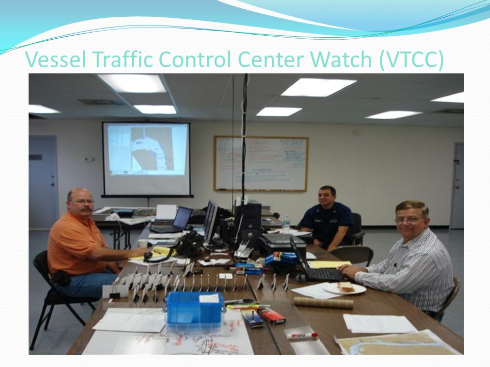 Vessel Traffic Control Center Watch (VTCC)