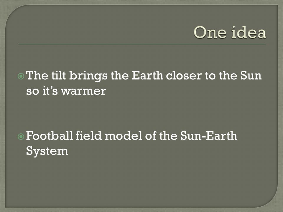  1 yard = two million miles so the distance between 10 yards is 20 million miles  Using this scale, if the Sun is roughly a million miles in diameter, how large should it be.