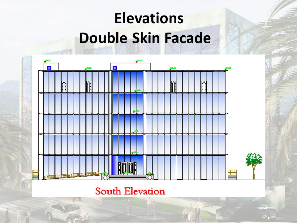 Elevations Double Skin Facade