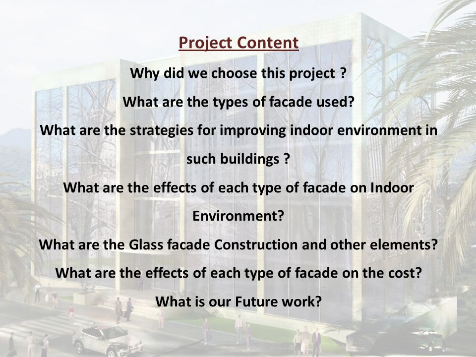 Glass Facade Construction Traditional Building Elements Design This part contains:-