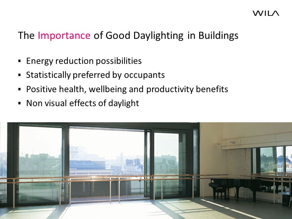 10 Daylight Factor DF = 100*E in /E out (using the CIE overcast sky) SLL Masterclass, Duncan Abbott Copyright by WILA Lighting Limited 7m