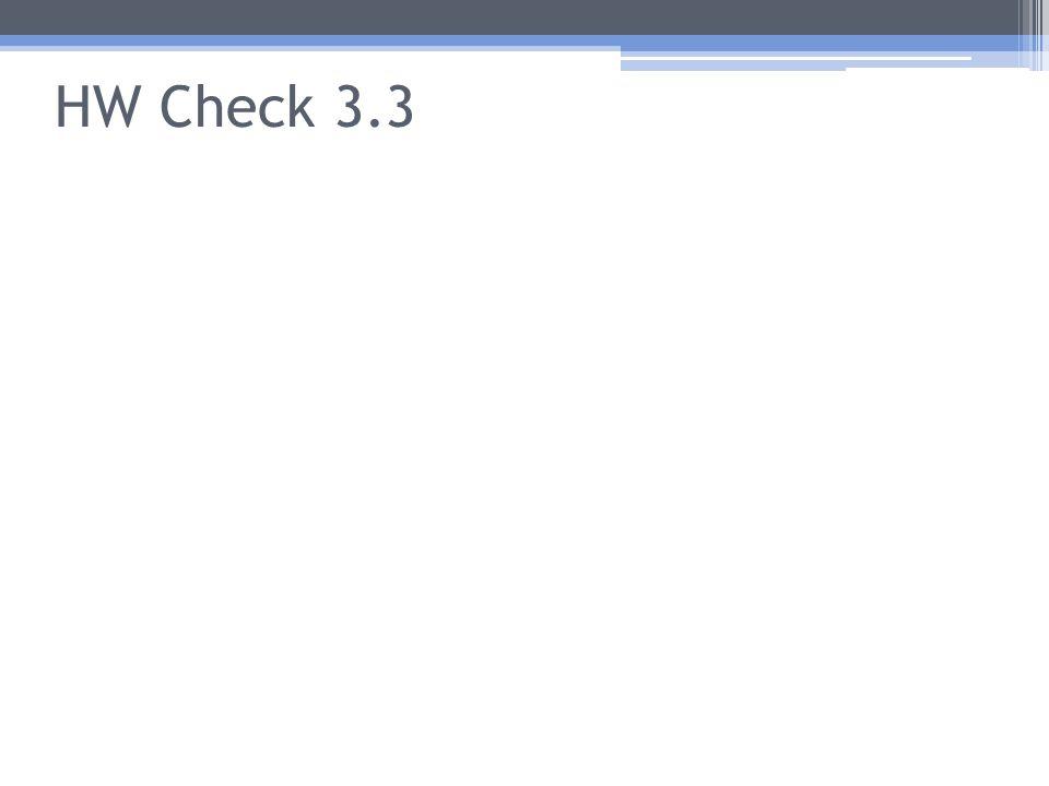 HW Check 3.3