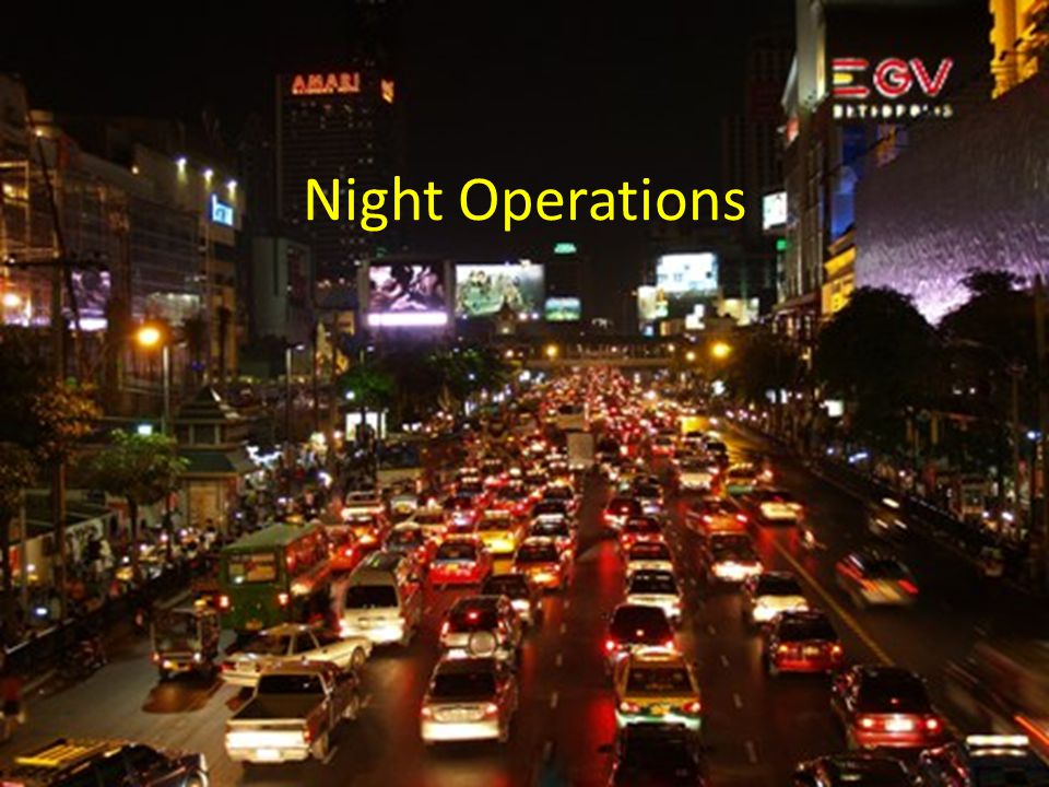 Night Operations