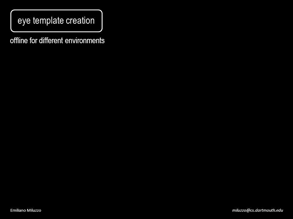 miluzzo@cs.dartmouth.eduEmiliano Miluzzo eye template creation offline for different environments