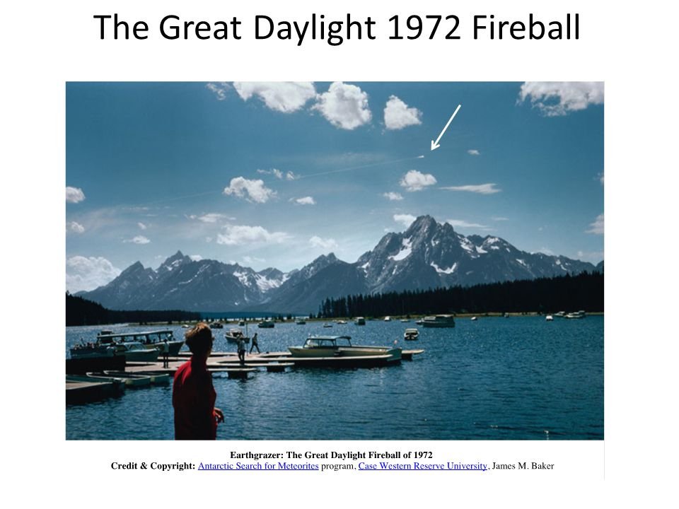 The Great Daylight 1972 Fireball