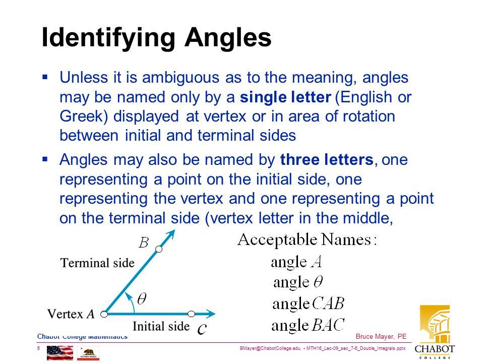 BMayer@ChabotCollege.edu MTH16_Lec-09_sec_7-6_Double_Integrals.pptx 16 Bruce Mayer, PE Chabot College Mathematics Unit Circ Tabulated