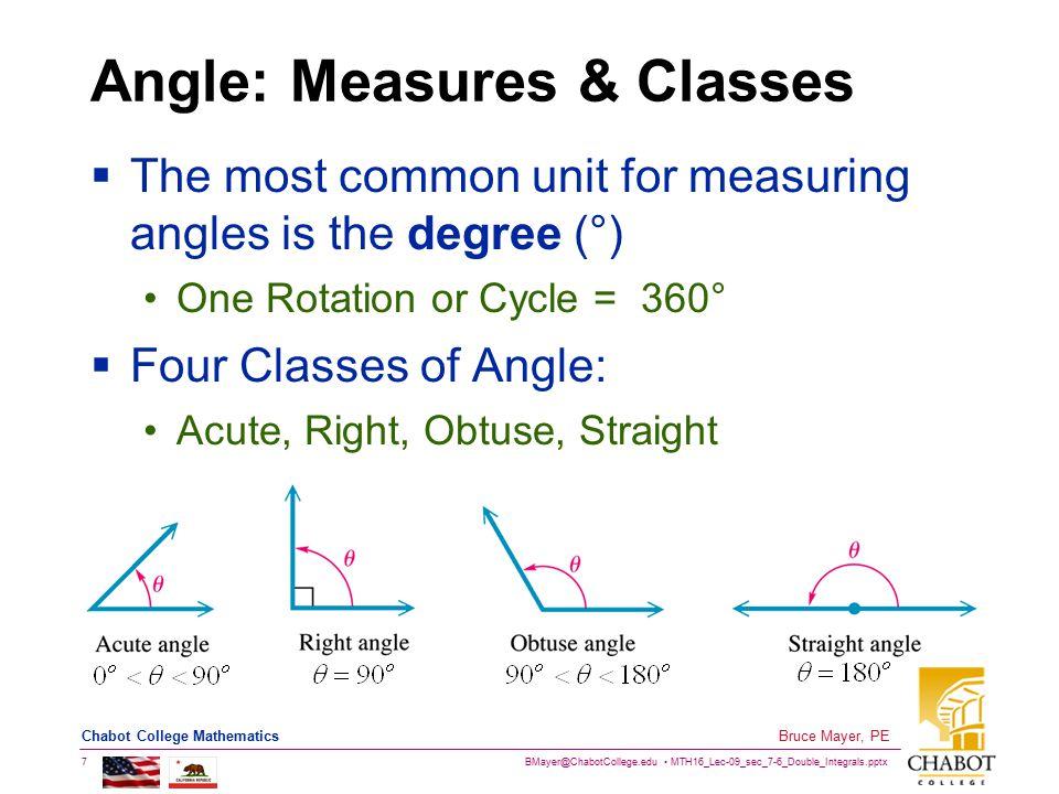 BMayer@ChabotCollege.edu MTH16_Lec-09_sec_7-6_Double_Integrals.pptx 38 Bruce Mayer, PE Chabot College Mathematics