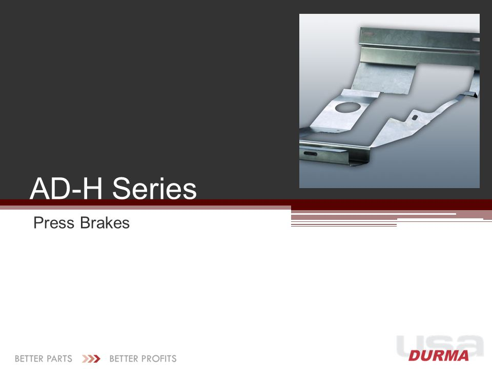 AD-H Series Press Brakes