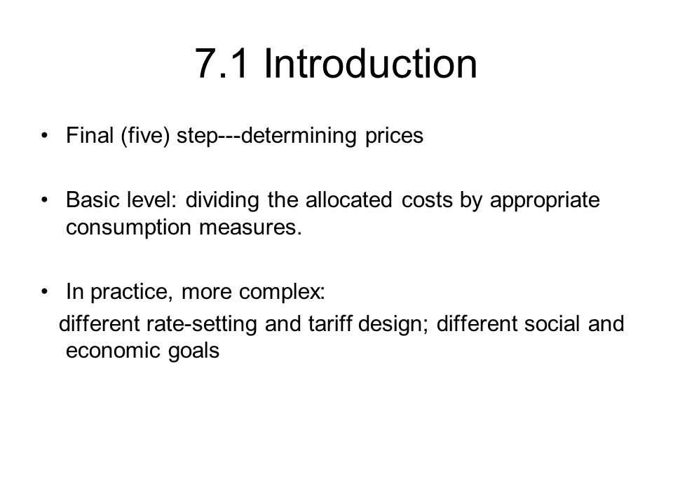 Figure: two-part tariff pricing