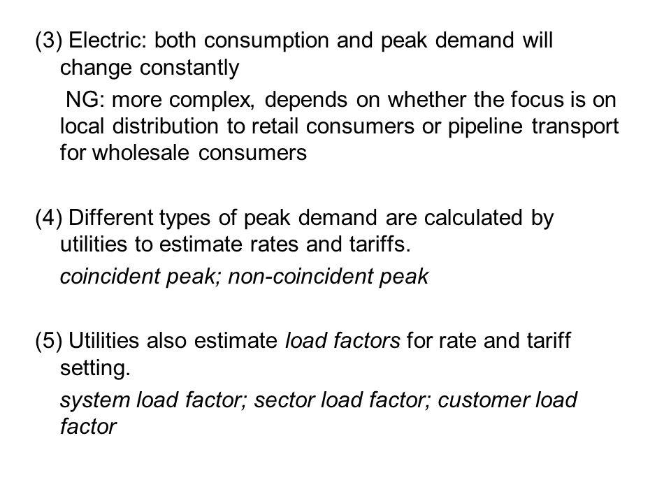 Figure: Block rate design under increasing marginal cost