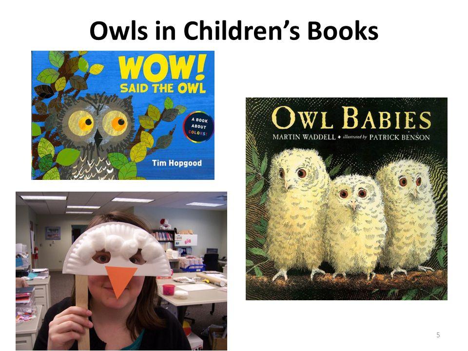 Owls in Children's Books 5