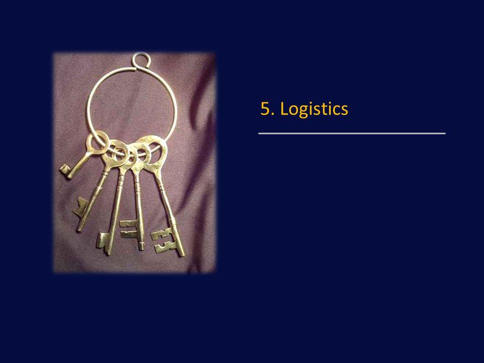 5. Logistics