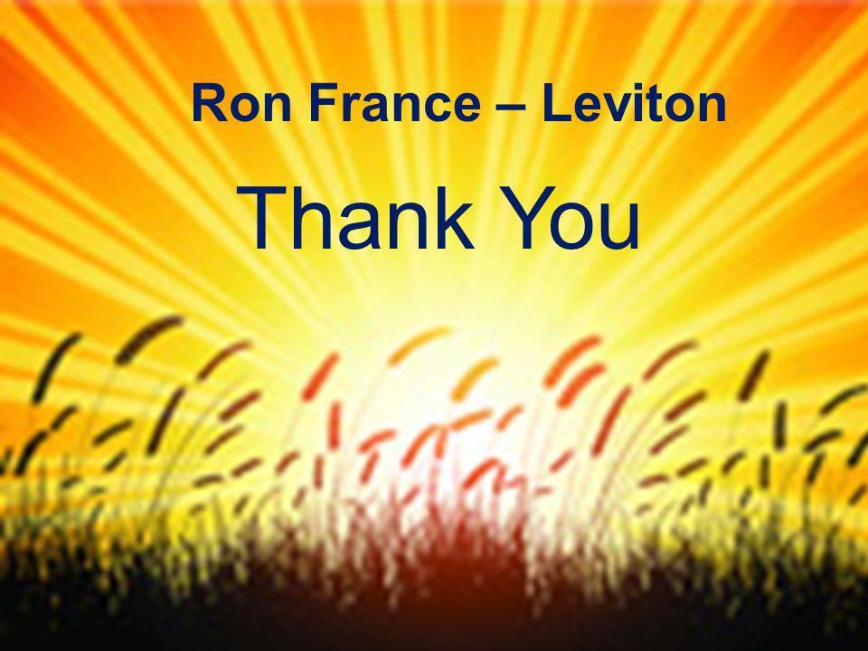 P66 Thank You Ron France – Leviton