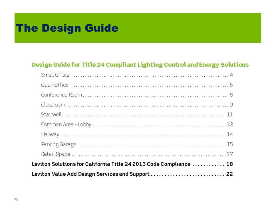 P9 The Design Guide