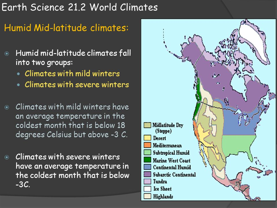 Earth Science 21.2 World Climates Dry Climates:  Dry climates exist as the result of the global distribution of air pressure and winds.