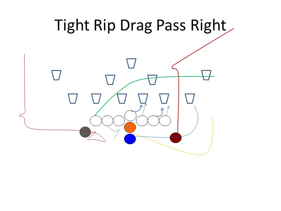 Tight Rip Drag Pass Right
