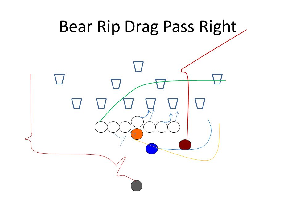 Bear Rip Drag Pass Right