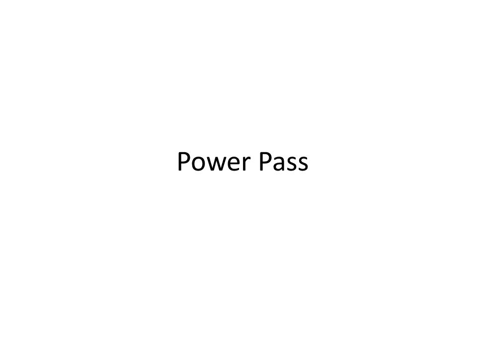 Bear Nasty Rip Power Pass Right