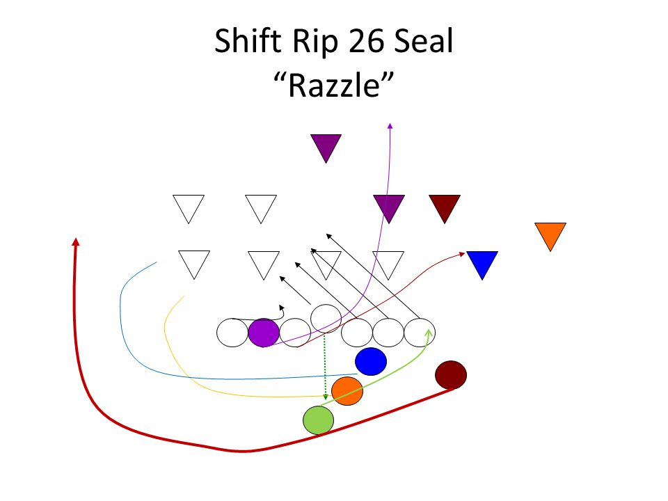 Shift Rip 26 Seal Razzle