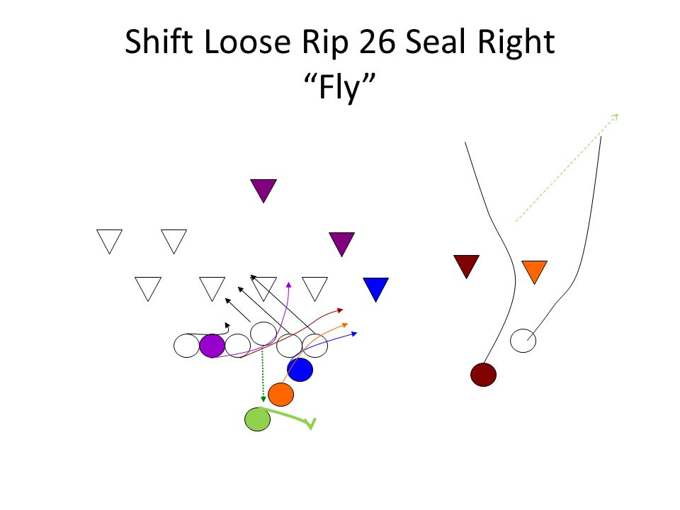 Shift Loose Rip 26 Seal Right Fly