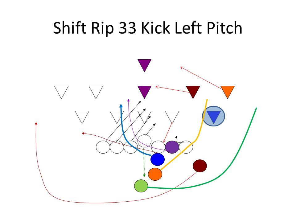 Shift Rip 33 Kick Left Pitch